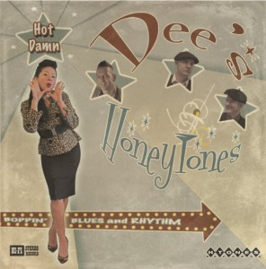 Honeytones cd cover