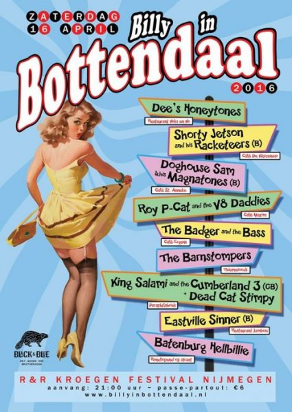 billy in bottendaal poster